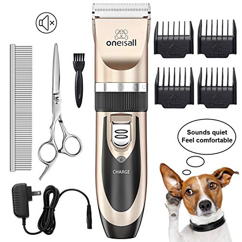 Rechargeable Cordless Dog Shaver Clippers