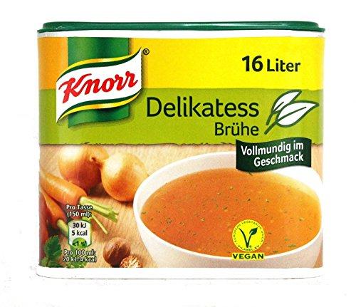 Knorr Delikatess Brühe, 2er Pack, 2 x 329 g