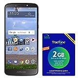 TracFone Motorola Moto e5 4G LTE Prepaid Smartphone with Amazon Exclusive $40 Airtime Bundle