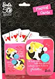 Barbie 50th Anniversary Playing Cards Set [Playing Cards and Tin Box Set]