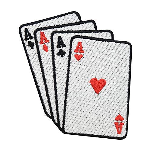 Finally Home Casino Karten Bügelbild Patch zum Aufbügeln | Patches, Aufbügelmotive