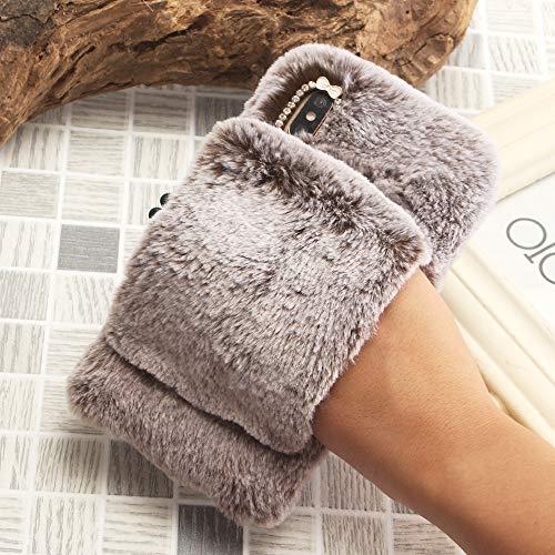 SevenPanda Luxus für Samsung S7 Hülle, Armband Griffhalter Handheld Schutzhülle für Galaxy S7 Handschuh Handmade Kristall Case TPU Weich Handgefertigt Tasche für Samsung Galaxy S7 - Braun