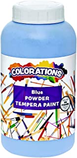 Colorations CPTBL Powder Tempera, Blue - 1 lb.