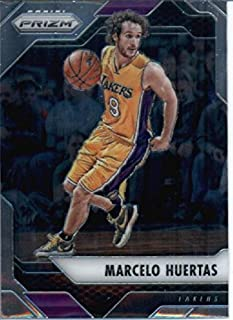 2016-17 Panini Prizm Basketball #139 Marcelo Huertas Los Angeles Lakers