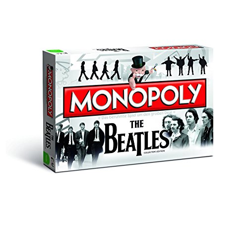 Winning Moves 44239 - Monopoly: The Beatles Collector's Edition - Deutsch