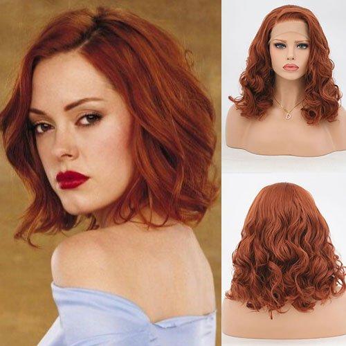 obtener pelucas naranjas cortas on-line