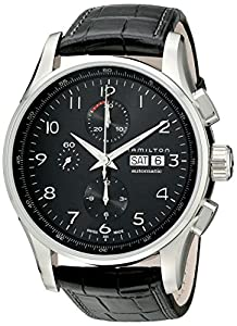 Hamilton Men's HML-H32716839 Jazzmaster Black Dial Watch Sale and Online and review image