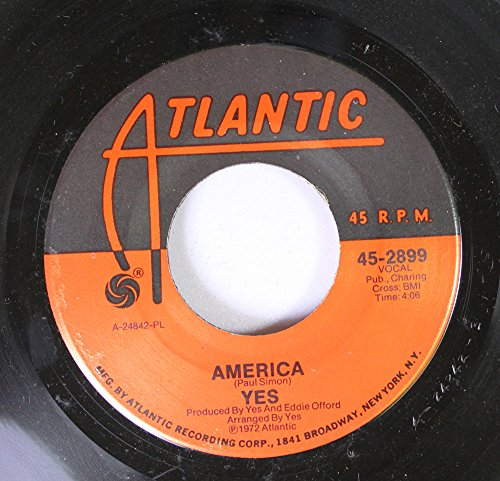 Yes 45 RPM America / Total Mass Retain (From 'Close to the Edge')
