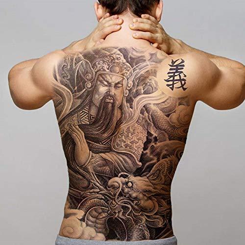 3ps-tatouage autocollant body art ailes pour homme tatouage grand rétro complet garçon de tatouage arrière 3ps-