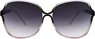 FEISEDY Fashion Butterfly Oversized Jackie O Sunglasses Shades for WOMEN B9022