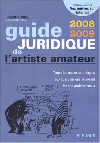 Guide juridique de l'artiste amateur
