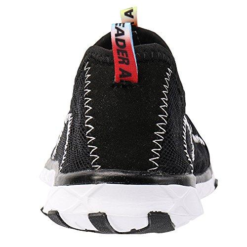 Aleader Women's Mesh Slip On Water Shoes Black 11 D(M) US