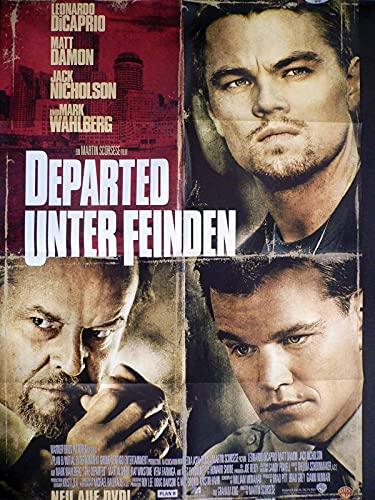 Departed - Unter Feinden - HM - Jack Nicholson - Videoposter A1 84x60cm gefaltet