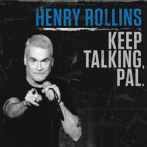 Henry Rollins audiobook cover art