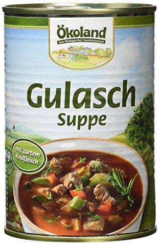 ÖKOLAND Gulaschsuppe, 6er Pack (6 x 400 g)