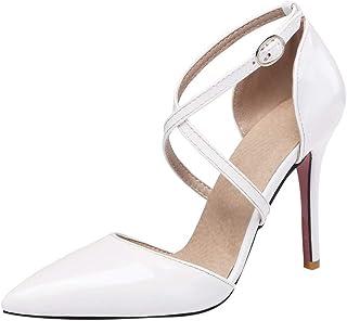 De esBlanco Zapatos Tacón MujerY Para Amazon EHeWD2I9Y