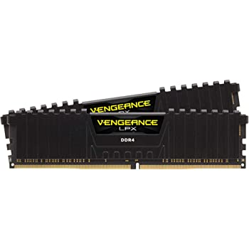 Corsair Vengeance LPX 16GB (2x8GB) DDR4 DRAM 3200MHz C16 Desktop Memory Kit - Black