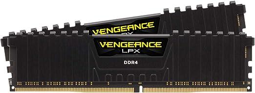 Corsair Vengeance LPX 32GB (2x16GB) 3200MHz C16 DDR4 DRAM Memory Kit – Black (CMK32GX4M2B3200C16)