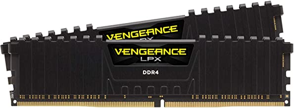Corsair Siyah Vengeance LPX Performans Belleği Soğutuculu, 16 GB (2x8 GB)