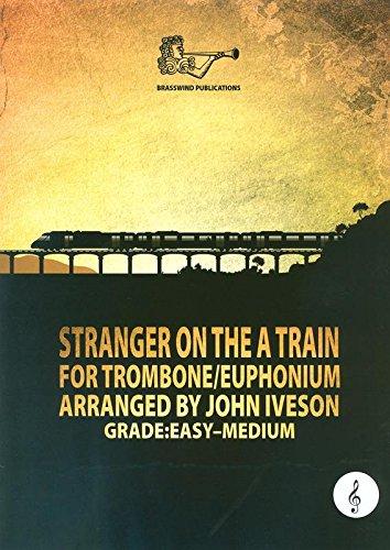 Extraño en el un tren para trombón/Bombardino agudos clef