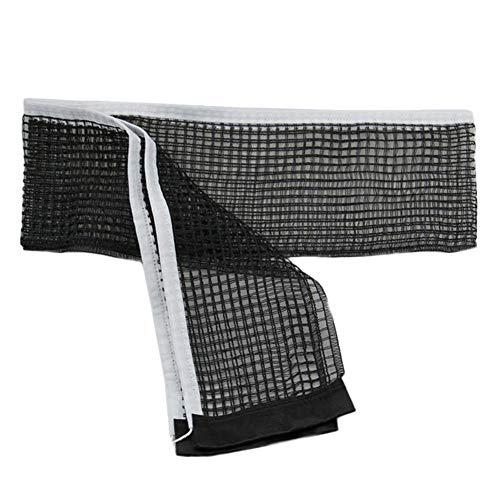 ZPAPPQWA Gewachste Schnur Tischtennis Tischnetz Ping Pong Tischnetz Ersatz 180cm * 15cm Tischtennis Zubehör