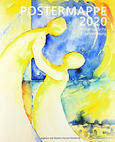JL 2020 Postermappe - Motiv Glaube: Monatssprüche und Jahreslosung