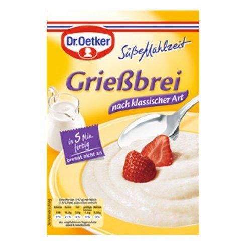 Dr. Oetker Süße Mahlzeit Grießbrei 2 Packg.