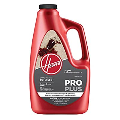 HOOVER Concentrated Professional Strength Carpet and Upholstery Cleaning Solution
