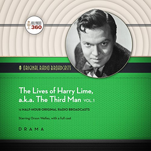 The Lives of Harry Lime, a.k.a. The Third Man, Vol. 1     The Classic Radio Collection              By:                                                                                                                                 Hollywood 360                               Narrated by:                                                                                                                                 Orson Welles,                                                                                        full cast                      Length: 5 hrs and 35 mins     3 ratings     Overall 3.7