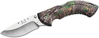 Buck Knives 397 Omni Hunter 12PT Folding Knife with Heavy-Duty Nylon Sheath