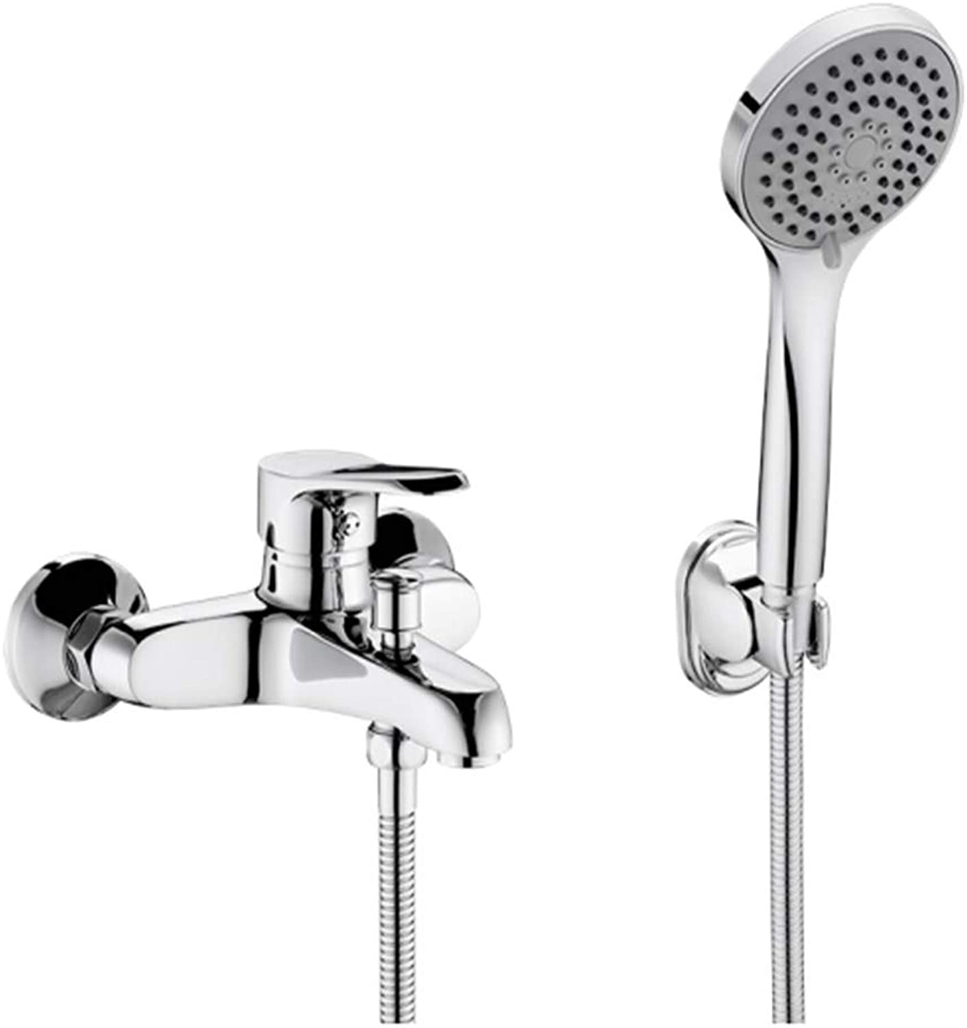 Kitchen Taps Faucet Modern Kitchen Sink Taps Stainless Steelbathroom Shower Shower Flower Sprinkle Copper Bath Faucet Cold and Hot Water Faucet
