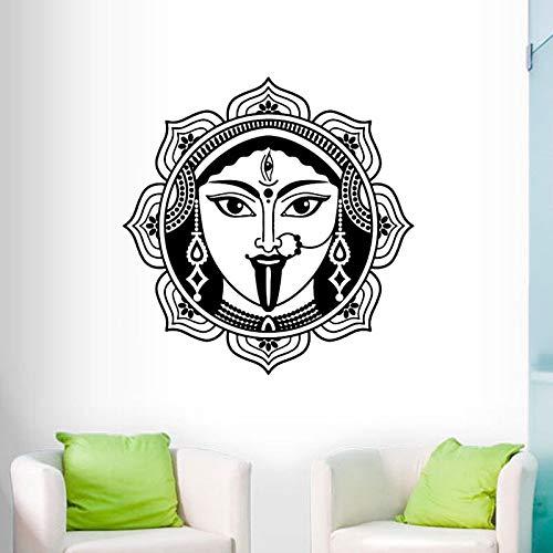 mlpnko Indische Shiva Wandaufkleber Hauptdekoration Wohnzimmer Hindu Gott Wandtattoo Vinyl Kunst Wandbild,CJX13747-88x88cm