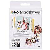 Polaroid Zink - Papel fotográfico para Polaroid Pop 2.0, 20 hojas