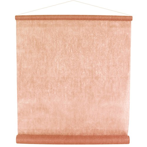 Raumbanner Banner Vlies 12 m apricot Dekostoff Raumdekoration Hochzeit Partydeko