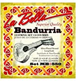 La Bella 7D79 - Pack con 6 pares de cuerdas afinadas