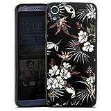 Silikon Hülle kompatibel mit HTC Desire 626 Case schwarz