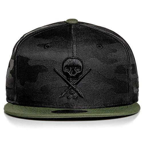 Sullen Men's Eternal Bravo Snapback Hat Black/Military Green