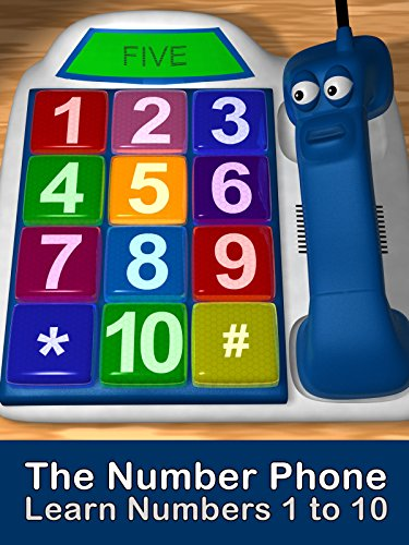 The Number Phone - Learn Numbers 1 to 10