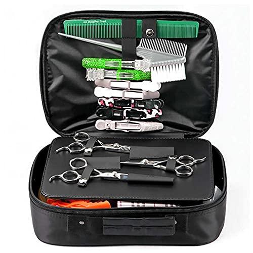 Bolsa de peluquero Bolso de Peluquero Bolso de tijera de cabello Oxford Paño Peluquería Bolsa de peluquería Herramientas de peluquería Caja de almacenamiento de gran capacidad Organice Equipo de salón