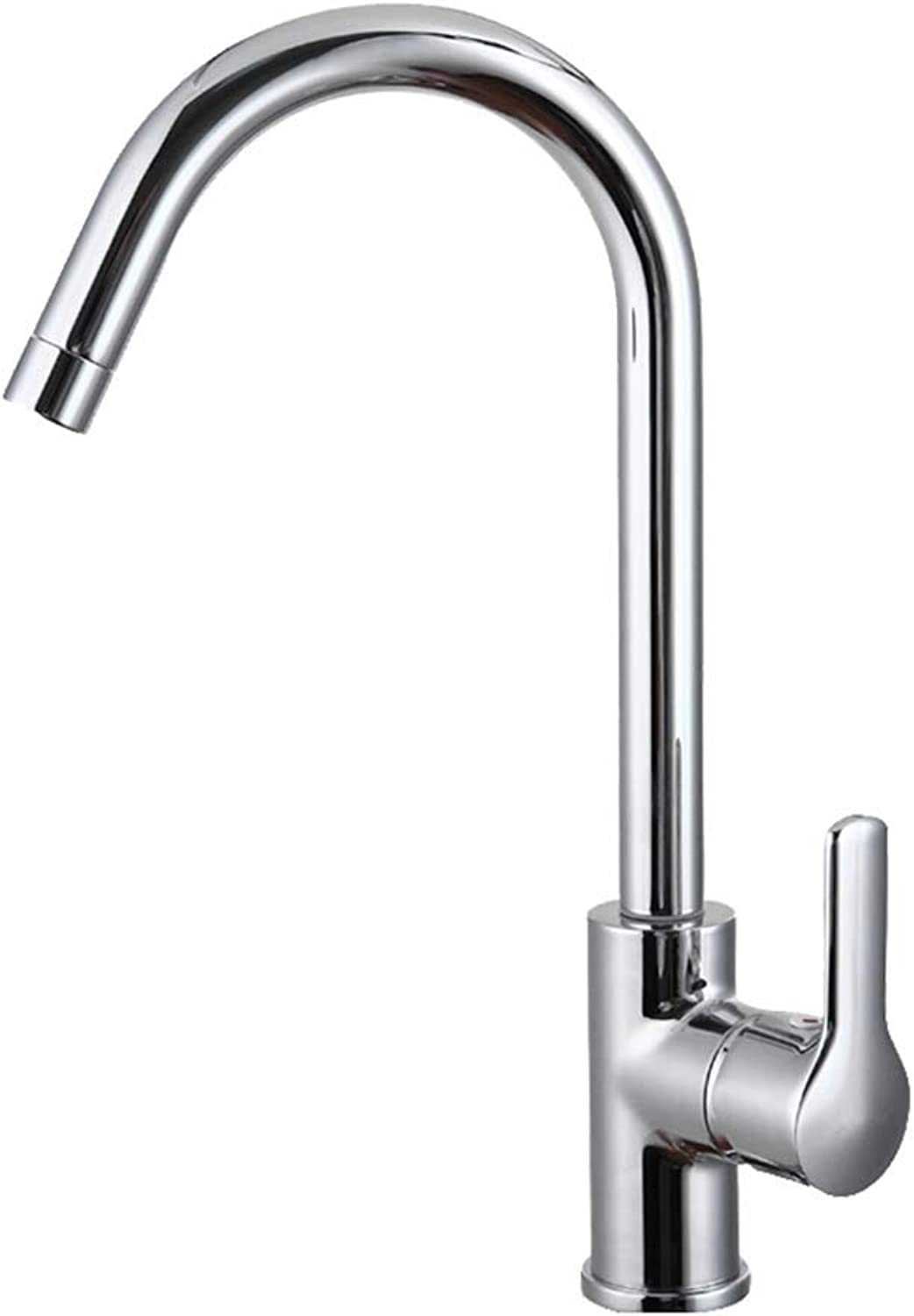 WB_L Kitchen Sink Taps Faucet Faucet Kitchen Sink Tap, Basin Mixer Faucet redatable Swivel Spout Brass Chrome Finish Modern Tap For Hot And Cold Water