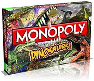 Winning Moves Games Dinosaurs Monopoly Board Game