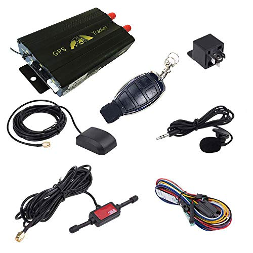 ATian GPS SMS Tracker TK103B with Remote Control Free PC Version Software Google maps Link Real time Tracking