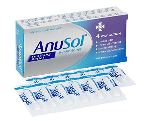 Anusol Soothing Relief Suppositories – the best haemorrhoid treatment UK
