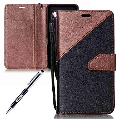 puissant JAWS EU Case Compatible avec Samsung Galaxy J3 / J3 2016 Wallet, PU Leather Flip Case…