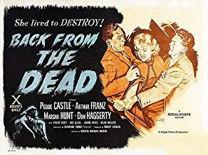 Back From the Dead - 1957 - Movie Poster Magnet