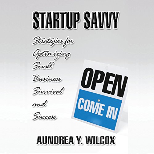 Startup Savvy audiobook cover art