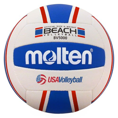 Molten Elite Beach Volleyball, Red/Blue
