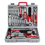 FIXKIT 555 Pieces Workshop Tool Set, Car Motorbike Bike Repair Maintenance Tool Kit
