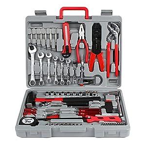 FIXKIT Juego de herramientas en maletín de herramientas para uso universal