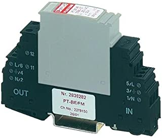 Phoenix Contact Overvoltage protection for sub-distribution Surge protection conductor MAINS-PLUGTRAB Class D base eleme